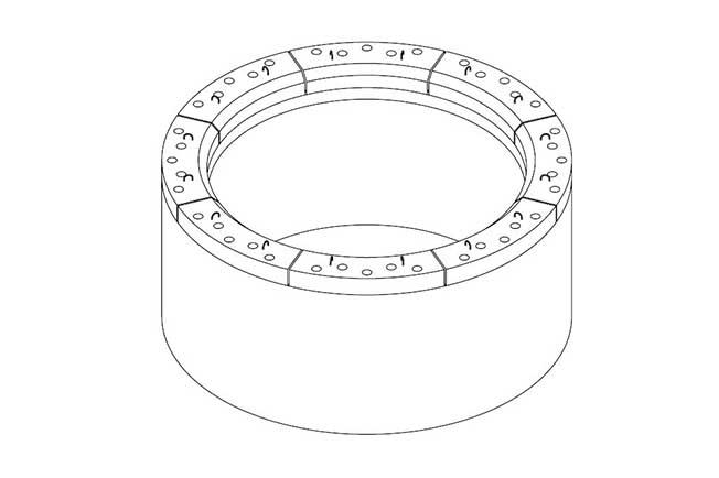 refractarios acerías brida refractaria cucharas