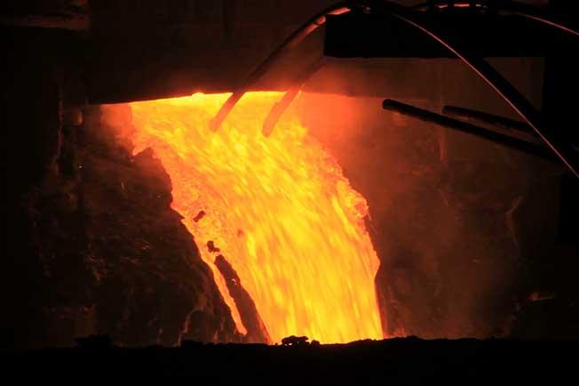 refractarios acerias piquera vaciado horno arco electrico