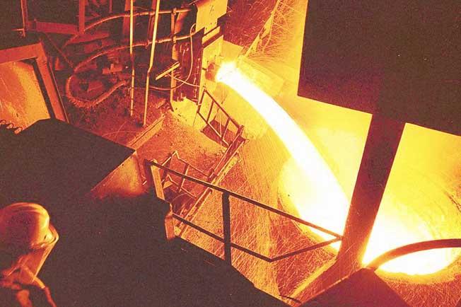 refractarios acerias valvula vaciado horno arco electrico