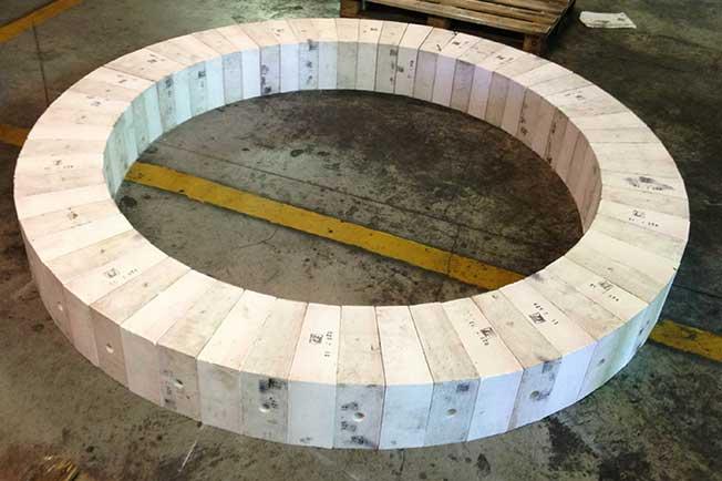 refractarios fundiciones aluminio piezas alta resistencia