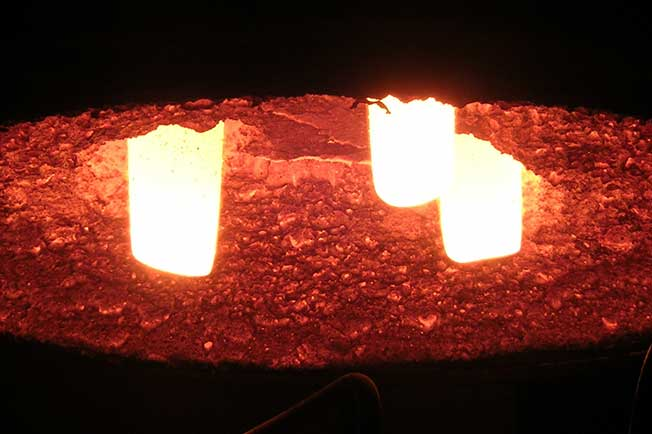 refractarios fundiciones acero boveda horno arco electrico
