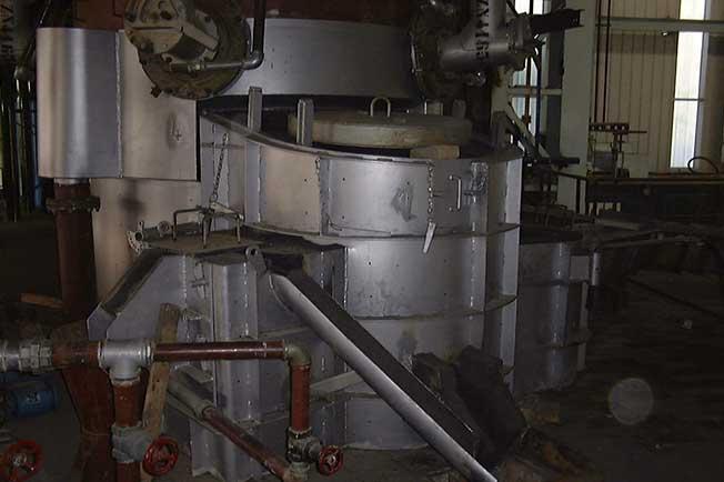 refractarios fundiciones hierro materiales revestimiento cubilote