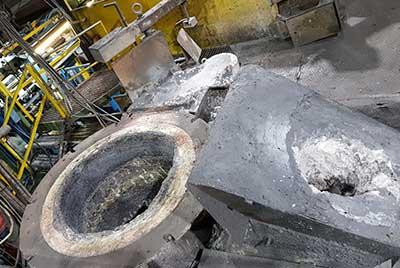 refractarios fundiciones hierro unidades colada presspours