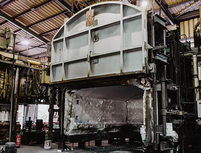 horno fabrica almacen desguisa maquina